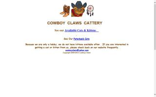 Cowboy Claws Cattery