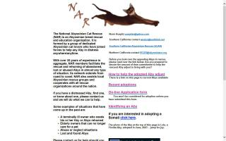 National Abyssinian Cat Rescue - NAR