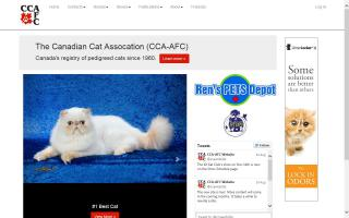 Canadian Cat Association / l'Association félin Canadienne - CCA / AFC