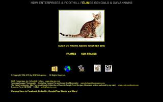 Foothill Felines / HDW Enterprises