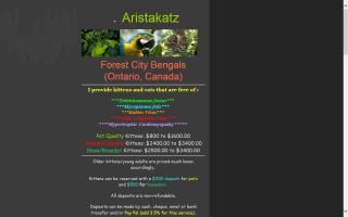 Aristakatz Forest City Bengals