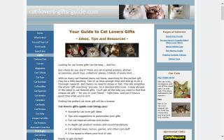 Cat Lovers Gifts Guide