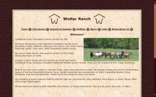 Wolter Ranch