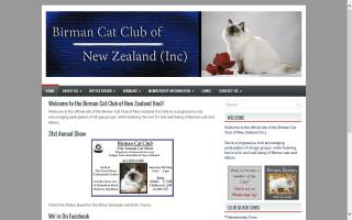 Birman Cat Club of New Zealand (Inc)