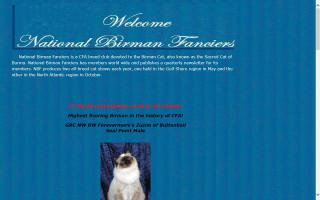 National Birman Fanciers - NBF