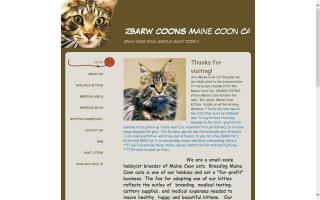 2BARW Coons Maine Coon Cattery