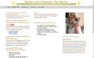 Persian and Himalayan Cat Rescue