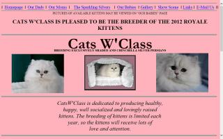 Cats W'Class Persian Cattery