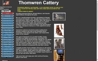 Thomwren Cattery