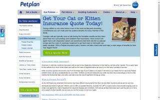 Petplan - Cat Insurance