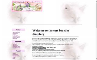 International Cat Breeder Directory