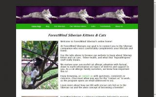 ForestWind Siberians