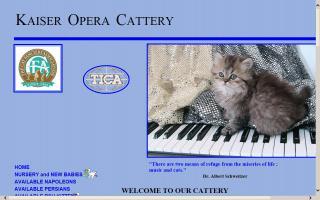Kaiser Opera Cattery