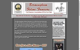Birmingham Feline Fanciers - BFF