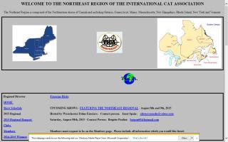 International Cat Association Northeast Region, The - TICA NE