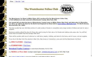 Westchester Feline Club, The