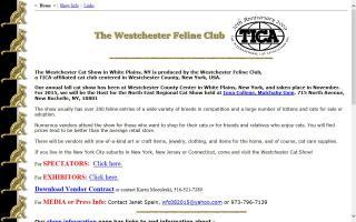 Westchester Feline Club, The