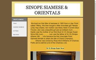 Sinope Siamese
