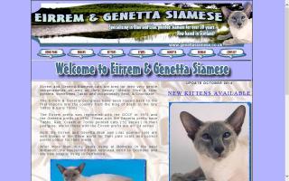 Eirrem & Genetta Siamese
