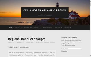 CFA North Atlantic Region