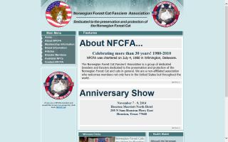 Norwegian Forest Cat Fanciers' Association - NFCFA