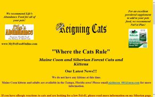 Reigning Cats