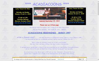 Acadiacoons