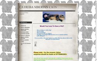 Catreba Siberian Cats