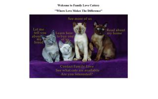 Family Love Cattery