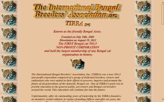 International Bengal Breeders Association, The - TIBBA