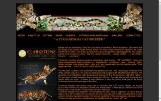 Clarkstone Bengal Cattery