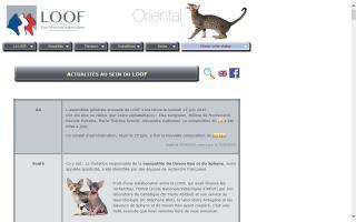 Livre Officiel des Origines Félines - LOOF
