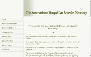 International Bengal Cat Breeder Directory, The