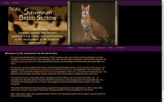 Savannah Breed Section