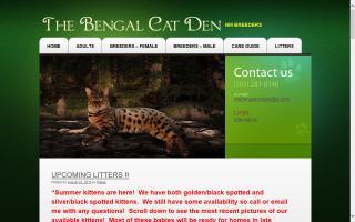Bengal Cat Den, The