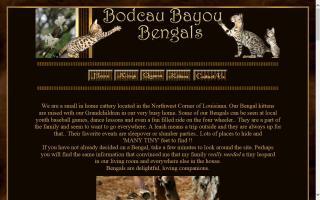 Bodcau Bayou Bengals