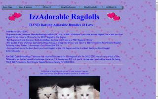 IzzAdorable Ragdolls