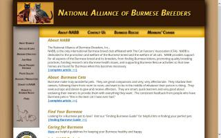 National Alliance of Burmese Breeders,  Inc. - NABB