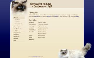 Birman Cat Club of Canberra Inc.