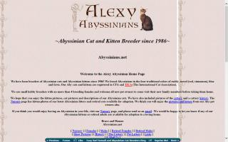 Alexy Abyssinians