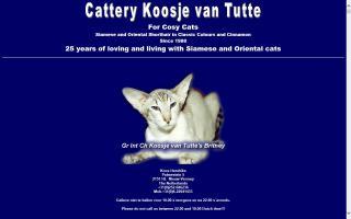 Cattery Koosje van Tutte