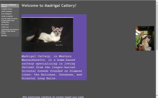 Madrigal Cattery
