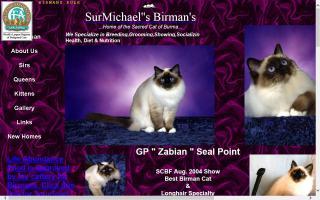 SurMichael's Birmans