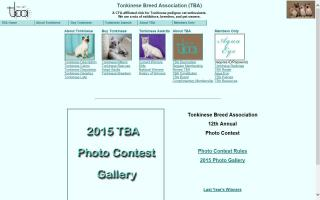 Tonkinese Breed Association - TBA