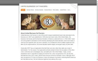 United Burmese Cat Fanciers - UBCF