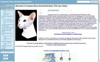 Compass Rose Cattery / Oshcats