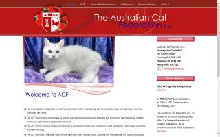 Australian Cat Federation (Inc.) - ACF