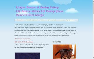 Kittykissies Fun Stuff For Pets and People / Kitakiss Burmese and Bombay Cattery