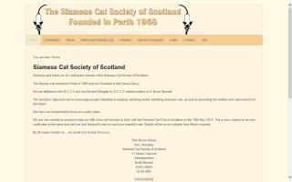 Siamese Cat Society Of Scotland