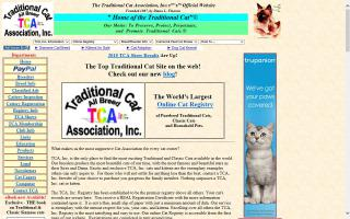 Traditional Cat Association, Inc. - TCA